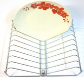"Swift ""V"" Shape plate rack"